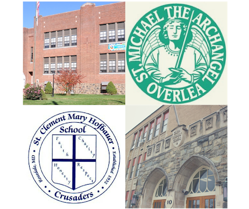 St. Michael - St. Clement School Old Logos